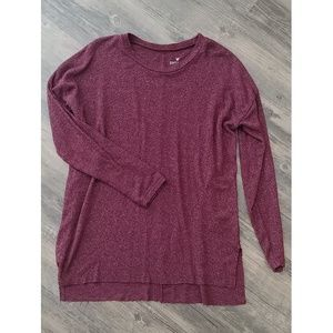 Soft Maroon Long Sleeve